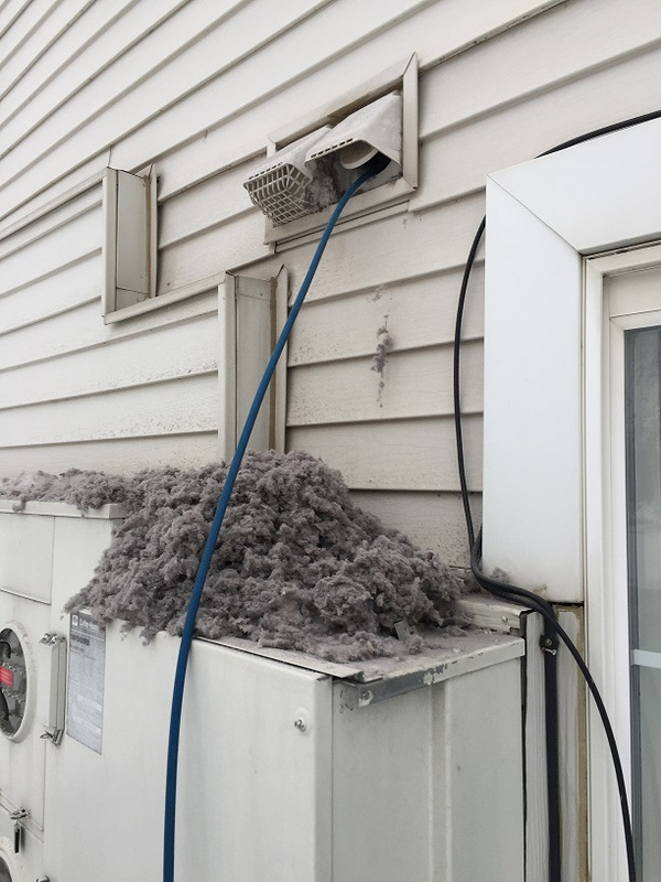 Commercial Dryer Vent Cleaning Apartments Condos