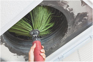 air duct cleaning at Twin Cities Furnace Cleaning