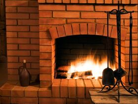 chimney sweeping at Twin Cities Furnace Cleaning